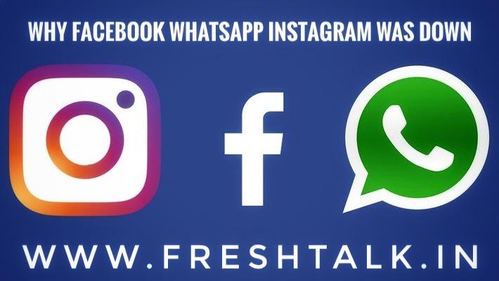 facebook down, intsagram down, whatsapp down