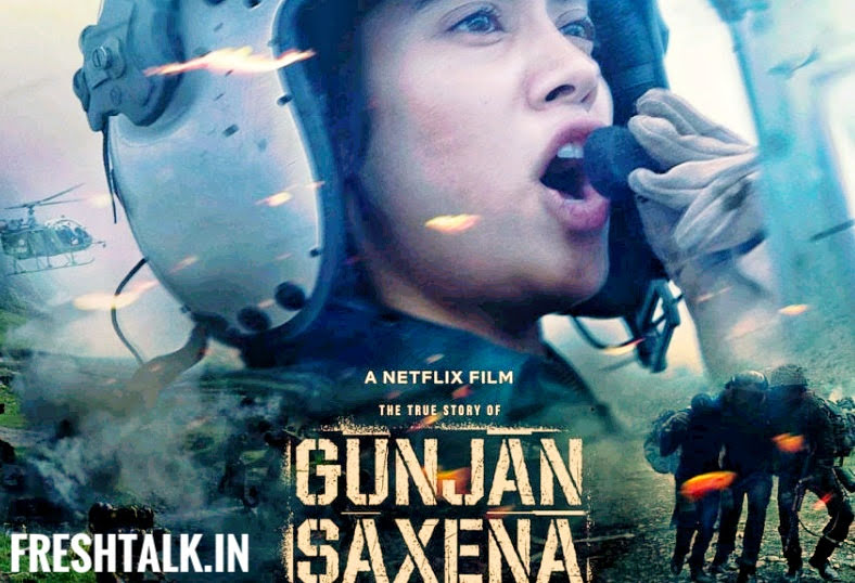 Karan Johar Releases Poster Of Janhvi Kapoor S Next Film Gunjan Saxena To Be Streamed On Netflix