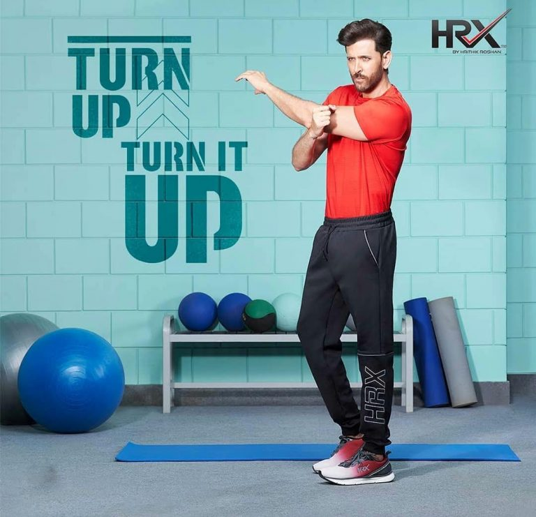HRX Brand By Hrithik Roshan   Be the best version of yourself   #Keepgoing