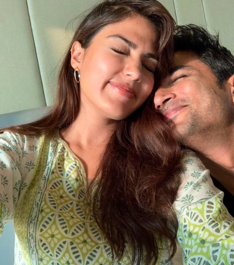 Rhea Chakraborty requests for CBI enquiry in Sushant Singh's suicide case.