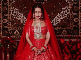 bridal looks, bollywood actress, wedding dress, neha kakkar, anushka bride, bipasa bride, priyanka bride, best bride looks