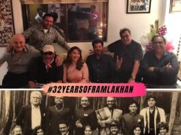 32-YEARS-OF-RAM-LAKHAN-MADHURI-DIXIT-CELEBRATES