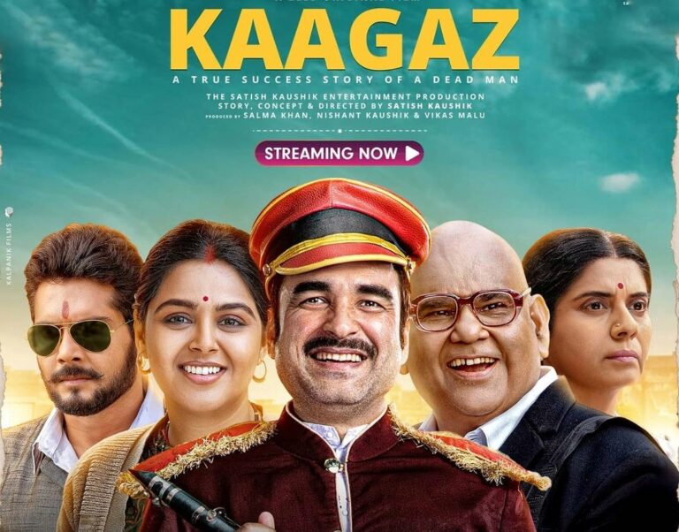 """Download """"KAAGAZ"""" in HD for free from Zee5 Premium and Tamilrockers"""