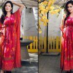 MUNMUN-DUTTA-RED-DRESS-PHOTO-RAJ-ANADKAT-REACTS