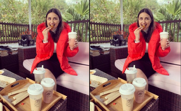 """Parineeti Chopra goes into """"food coma"""" as she returns home from…"""