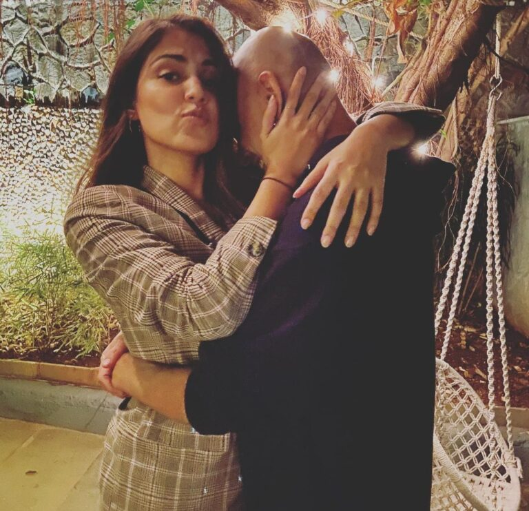 Rhea Chakraborty spends quality time with Rajiv Lakshman, he calls her 'my girl', SEE PHOTOS