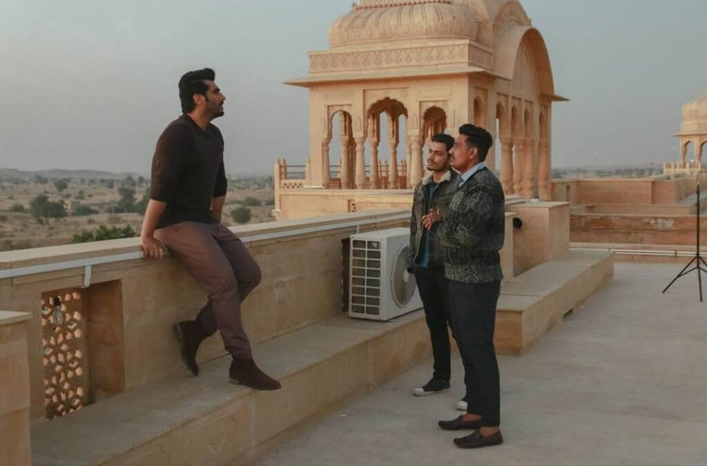 Arjun Kapoor meets with his fan during the shoot in Jaisalmer, says 'In an actor's life...