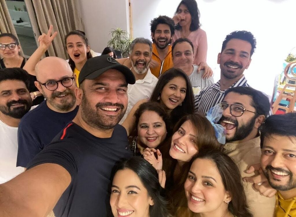 BB Winner Rubina Dilaik celebrates victory with family and close friends, SEE PHOTOS...