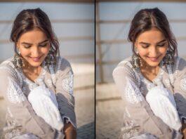 JASMIN-BHASIN-GREY-DRESS