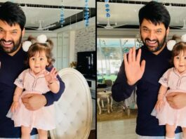 KAPIL-SHARMA-SHARES-HIS-DAUGHTER-PICTURE