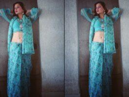 RASHAMI-DESAI-IN-HOT-BLUE-SAREE