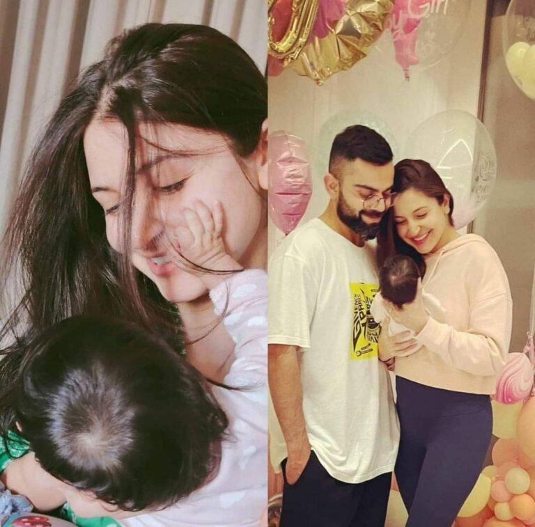 Virat Kohli shares a GLIMPSE of baby Vamika and pens a strong NOTE on Women's Day.