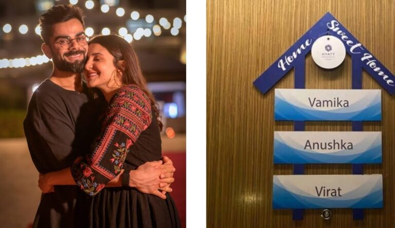 Anushka Sharma gets a personalised nameplate for baby Vamika, fans call it amazing.