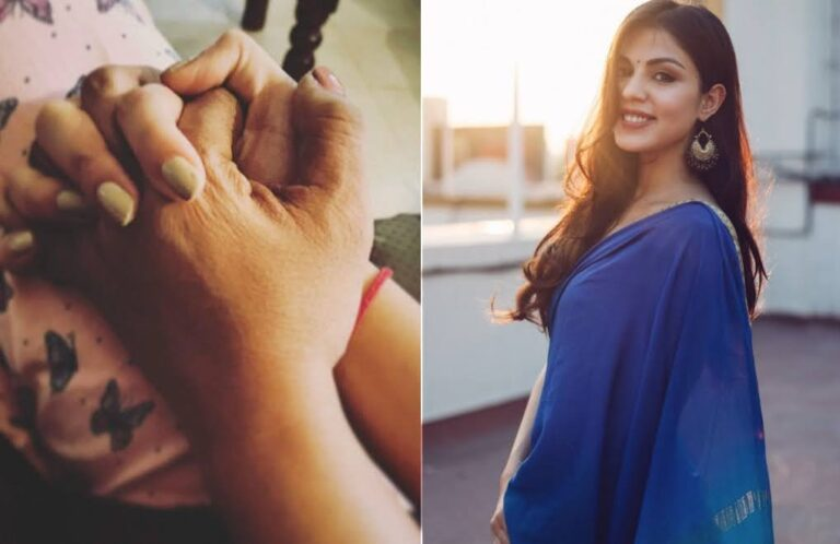Rhea Chakraborty makes her first insta POST after the drug case probe, honours her mom on Women's Day.