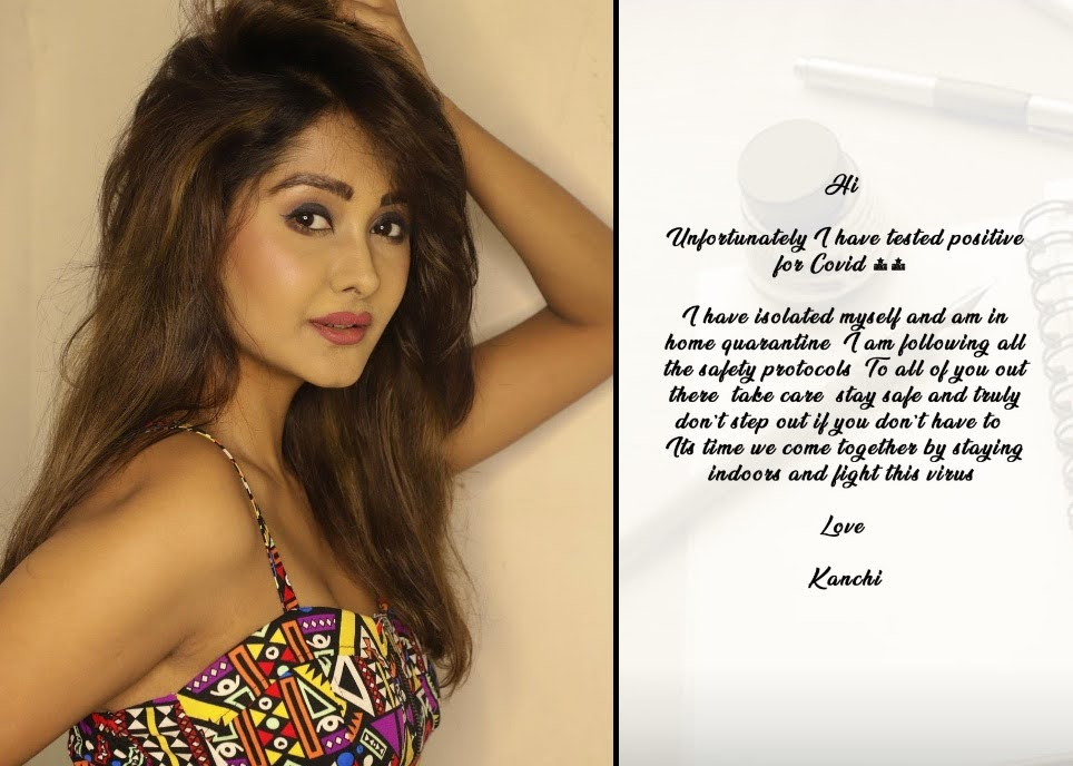 YRKKH fame Kanchi Singh tests positive for Covid-19 shares THIS message for fans.