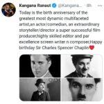 KANGANA-RANAUT-REMEMBERS-CHARLIE-CHAPLIN-