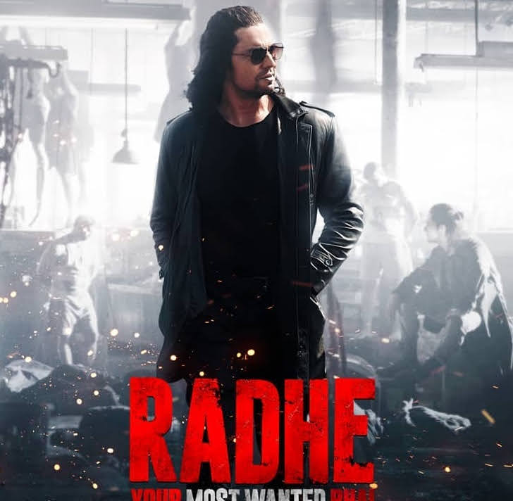 "Radhe NEW POSTER is HERE, Randeep Hooda as the ""hottest villain""."