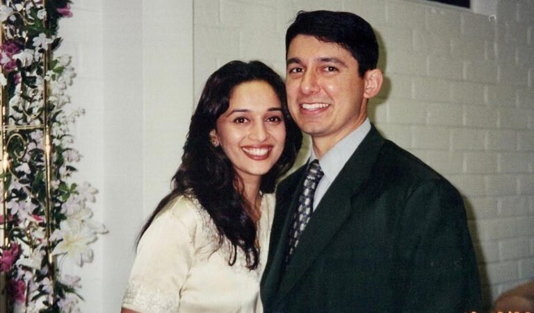 """Shriram wishes wifey Madhuri Dixit on her birthday with a """"vintage"""" PHOTO and a special NOTE."""