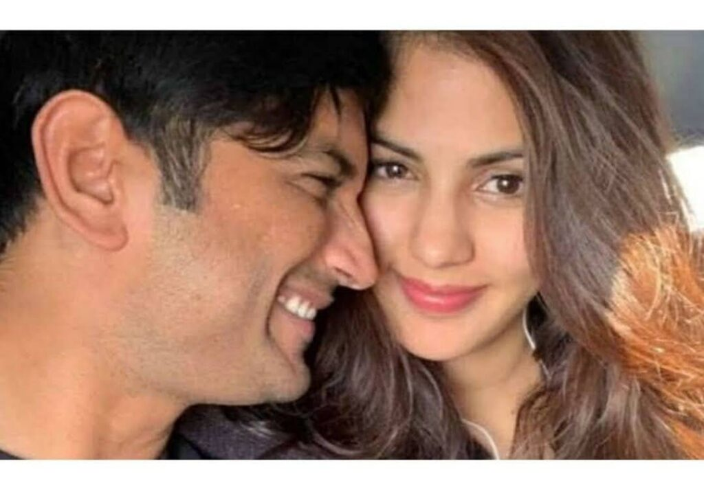 """Rhea Chakraborty pens an """"emotional"""" NOTE for SSR on his death anniversary."""