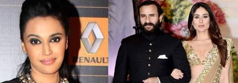 """Swara Bhasker """"slams trolls"""" for trolling Kareena and Saif on their son's name controversy."""