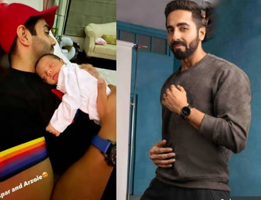 Ayushmann shares 1st pic of niece Arzoie and it can't get cute enough!