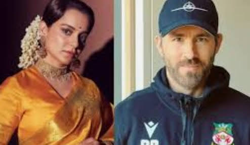 Kangana Ranaut REACTS to Ryan Reynolds comment 'Hollywood is mimicking Bollywood'.