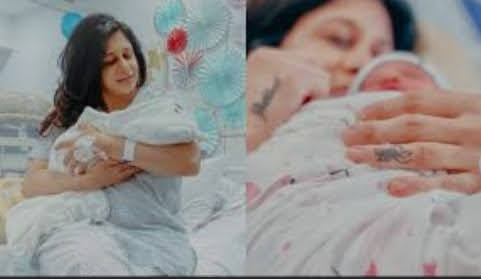 Kishwer Merchant introduces son 'Nirvair' with this adorable VIDEO.